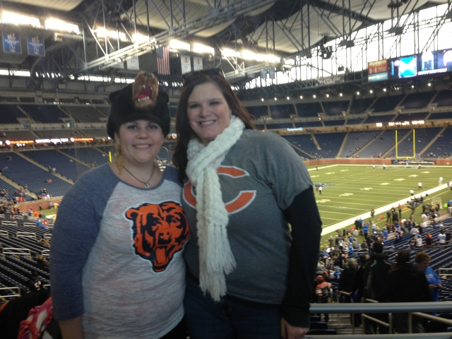 Chicago Bears vs. Detroit Lions Detroit, MI NFL Football HUNKSrHANDBAGS