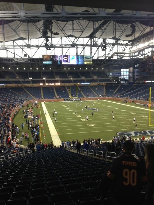 Chicago Bears vs. Detroit Lions Detroit, MI NFL Football HUNKSrHANDBAGS