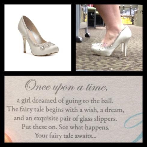 HUNKSrHANDBAGS Cinderella Shoes Shopping Shoe Disney