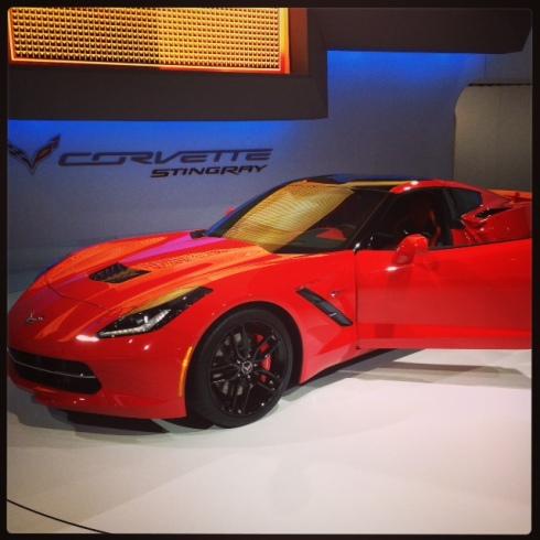 The all new Corvette Stingray