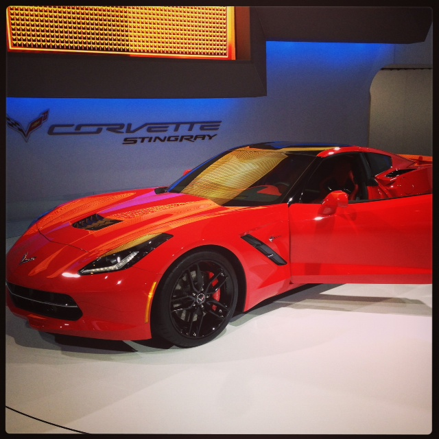 The all new Corvette Stingray