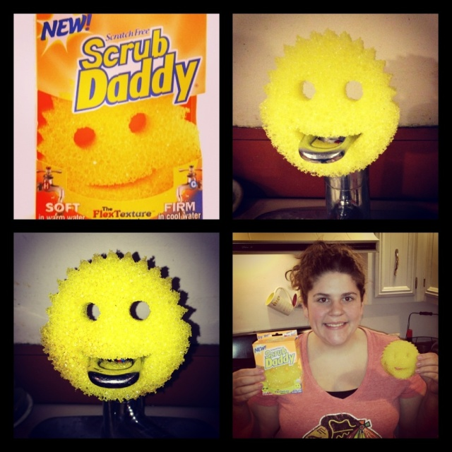 Scrub Daddy before and after!
