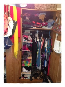 My very stuffed closet!